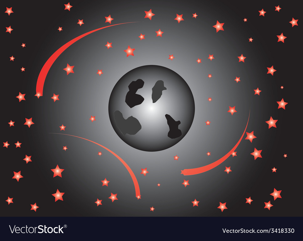Moon sky vector | Price: 1 Credit (USD $1)