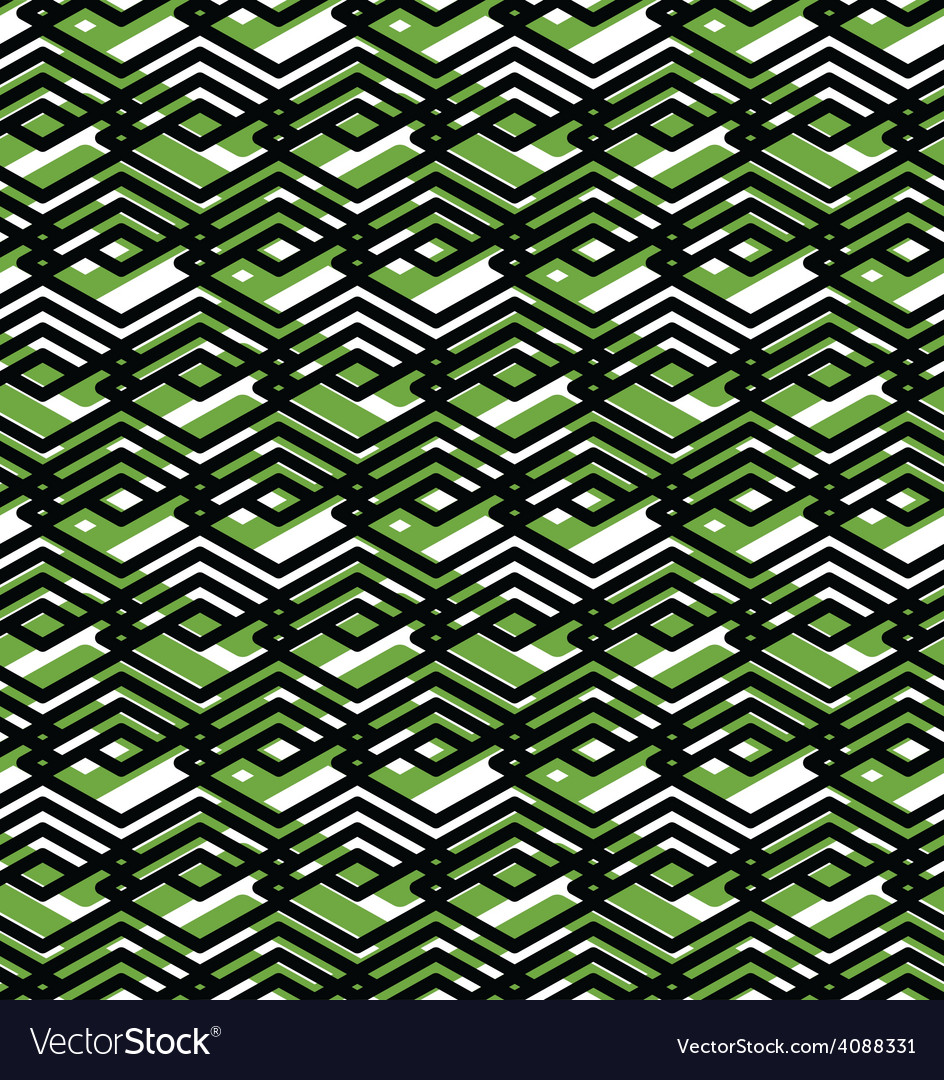 Geometric lined seamless pattern colorful endless vector | Price: 1 Credit (USD $1)