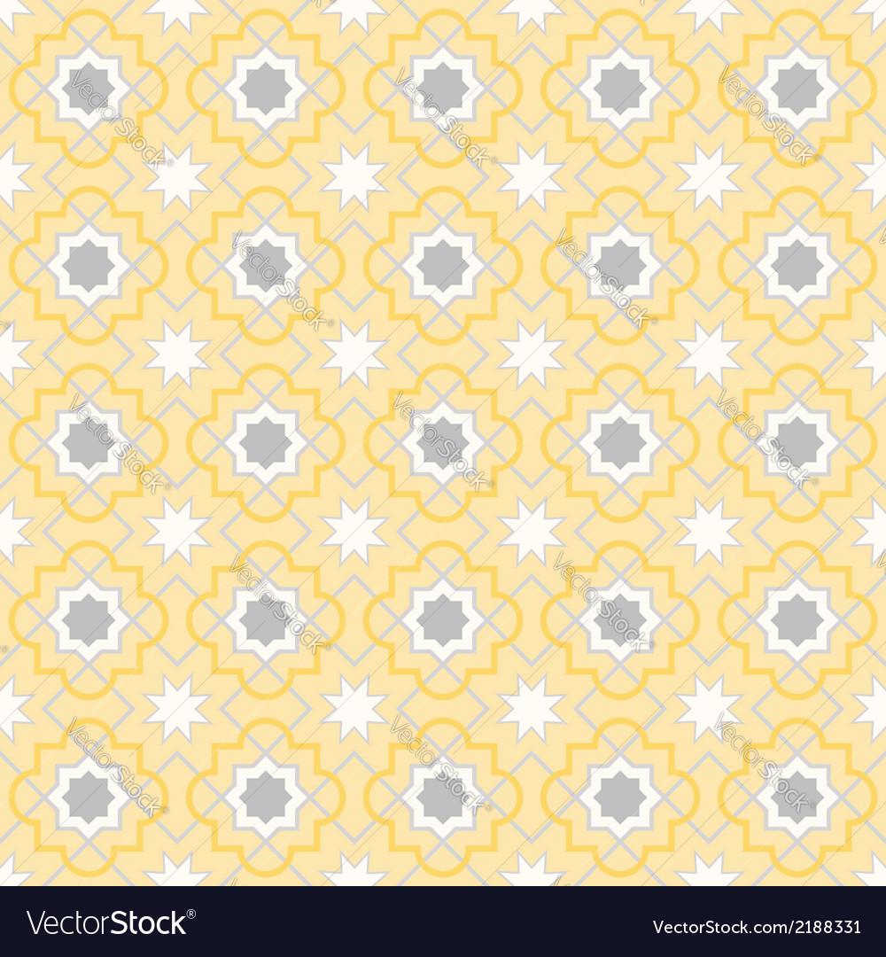 Quatrefoil lattice pattern vector | Price: 1 Credit (USD $1)