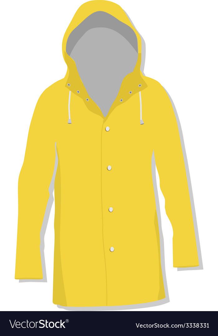 Rain coat vector | Price: 1 Credit (USD $1)