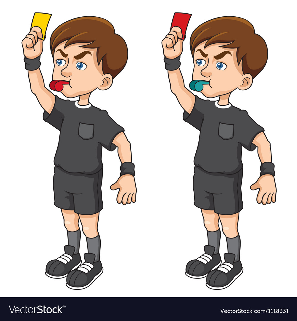 Soccer referee vector | Price: 1 Credit (USD $1)