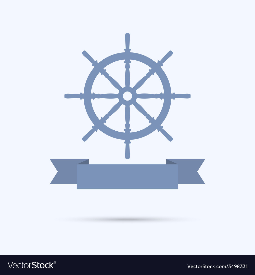 Wheel banners as a flat ribbon vector | Price: 1 Credit (USD $1)
