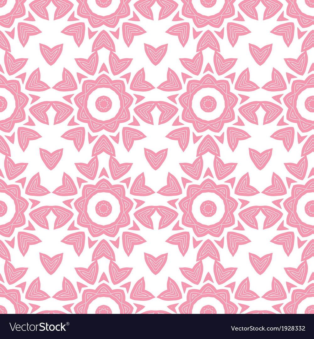 Abstract pink repeat geometrical seamless pattern vector   Price: 1 Credit (USD $1)