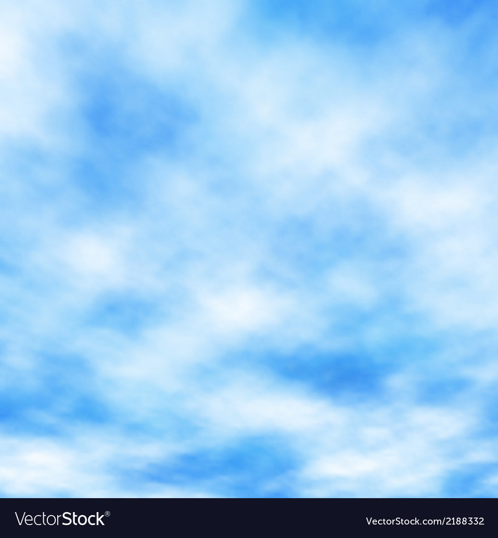 Cotton clouds vector | Price: 1 Credit (USD $1)