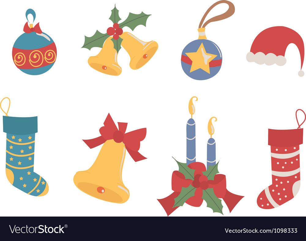 Decoration christmas vector | Price: 1 Credit (USD $1)