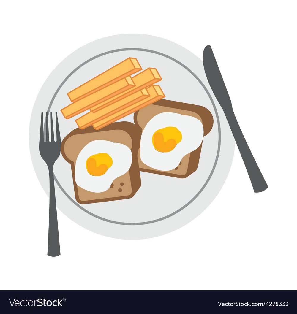 Delicious breakfast vector | Price: 1 Credit (USD $1)