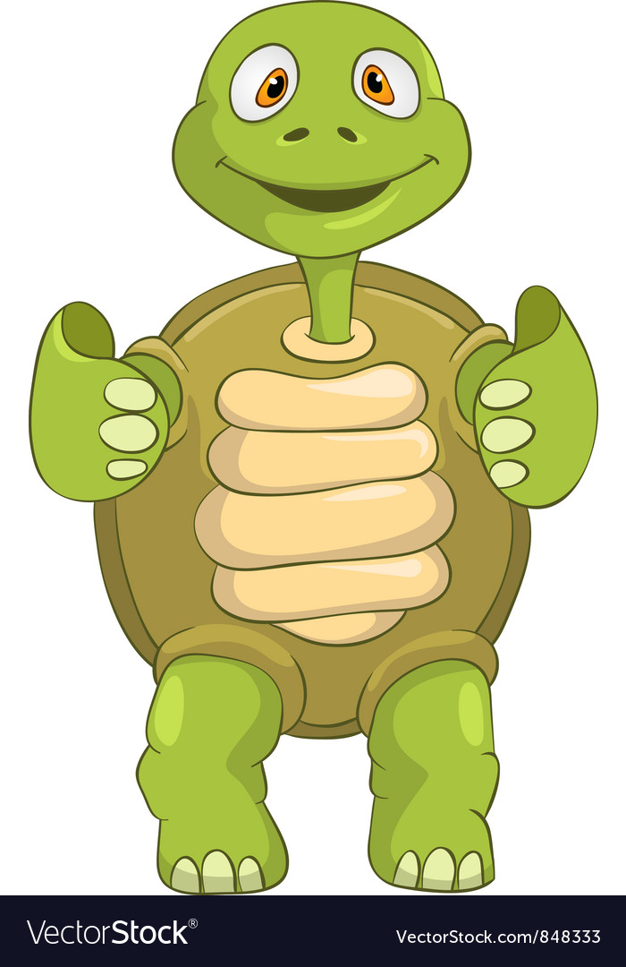 Funny turtle funky vector | Price: 3 Credit (USD $3)