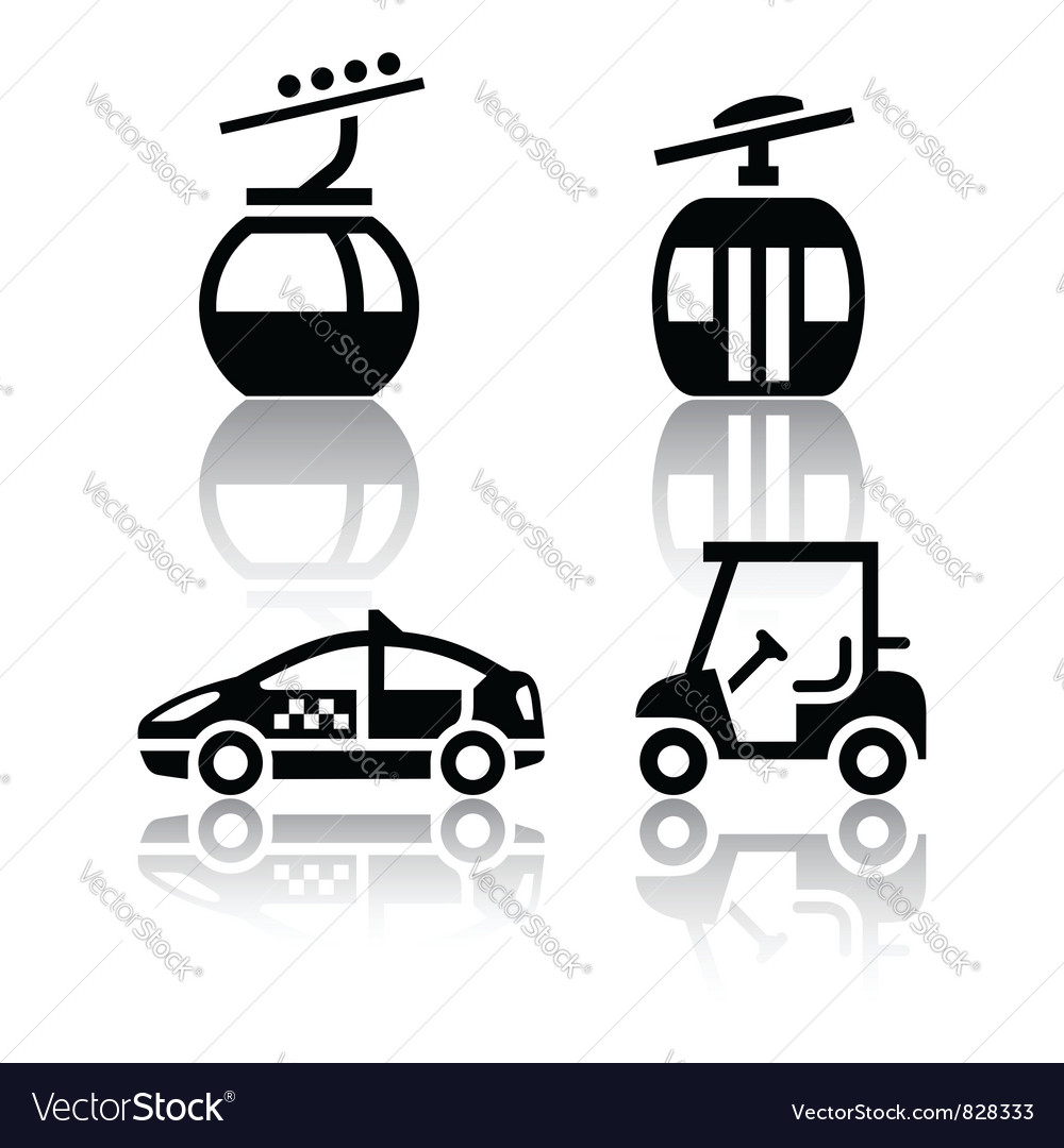 Set of transport icons - sport vector | Price: 1 Credit (USD $1)
