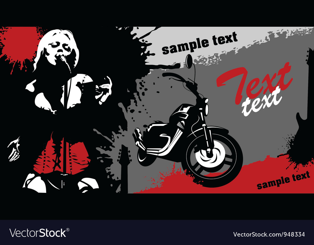 Grunge music background vector | Price: 1 Credit (USD $1)