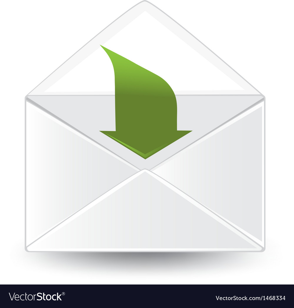 Incoming mail vector | Price: 1 Credit (USD $1)