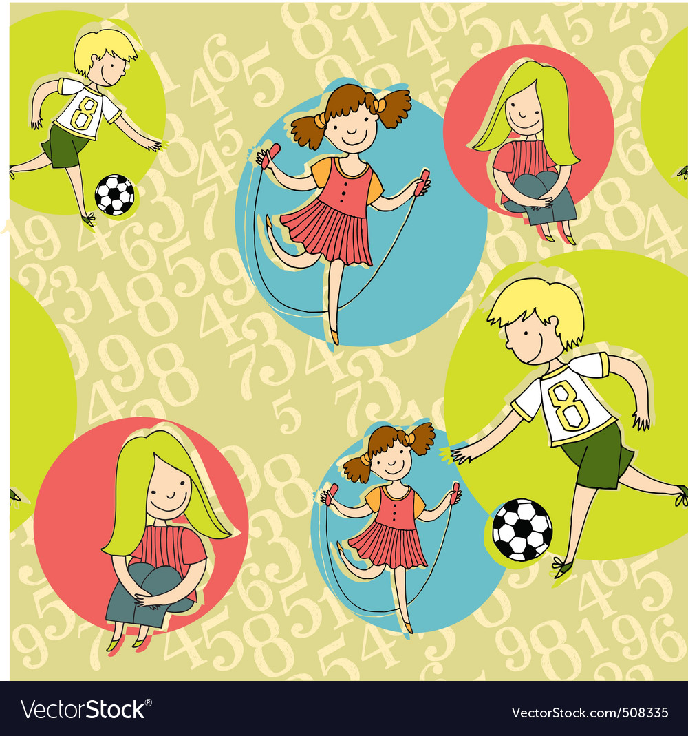 Boys  girls vector | Price: 1 Credit (USD $1)