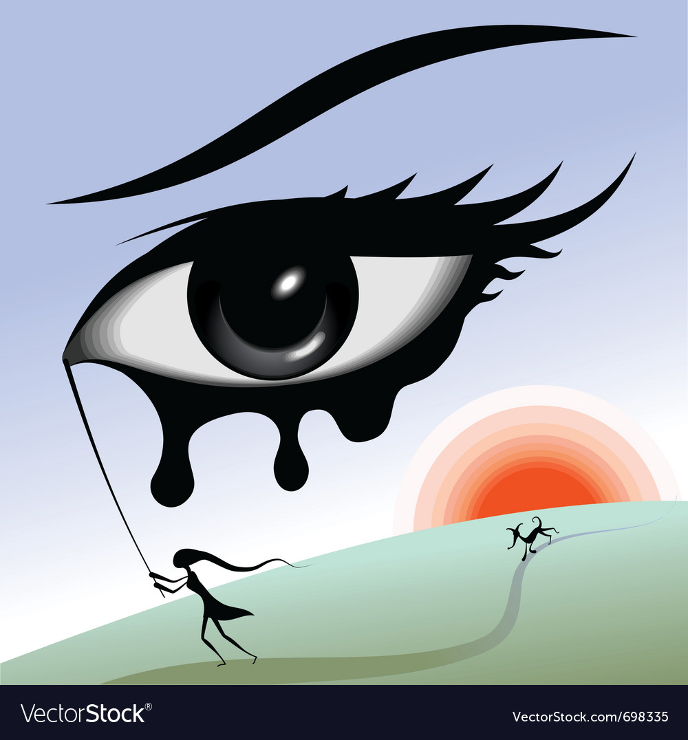Eye in the sky vector | Price: 1 Credit (USD $1)