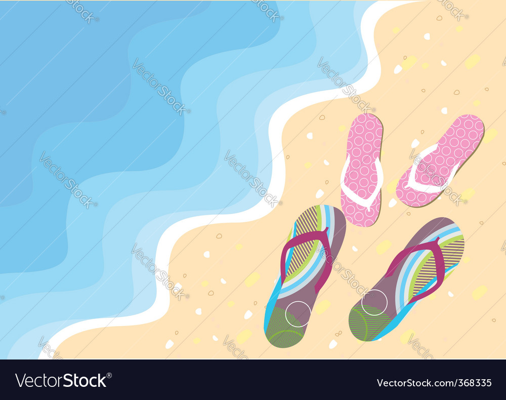 Wave shoes vector | Price: 3 Credit (USD $3)