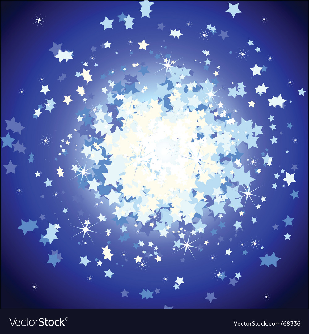 Background stars vector | Price: 1 Credit (USD $1)