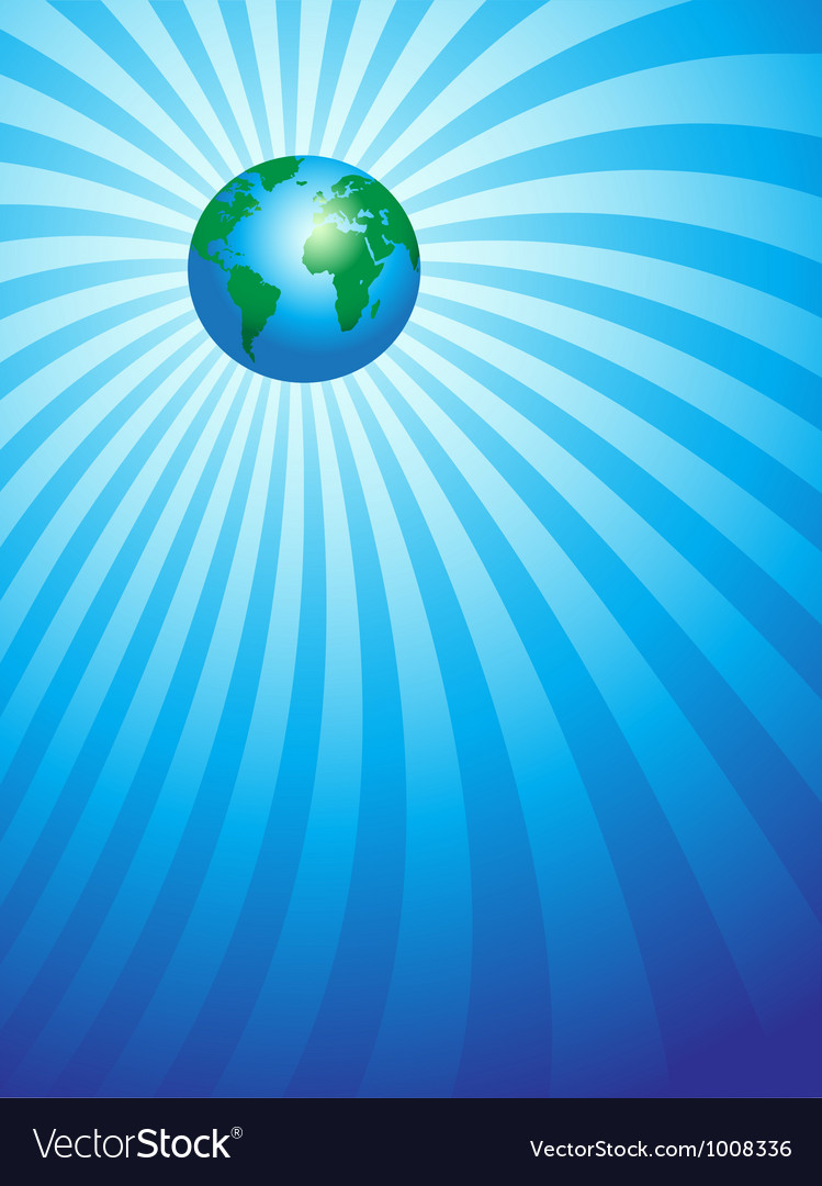 Earth focus vector | Price: 1 Credit (USD $1)