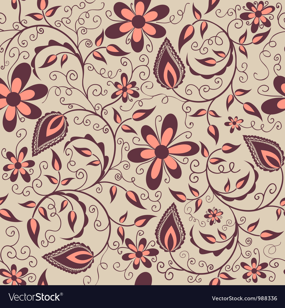 Flower pattern element vector | Price: 1 Credit (USD $1)