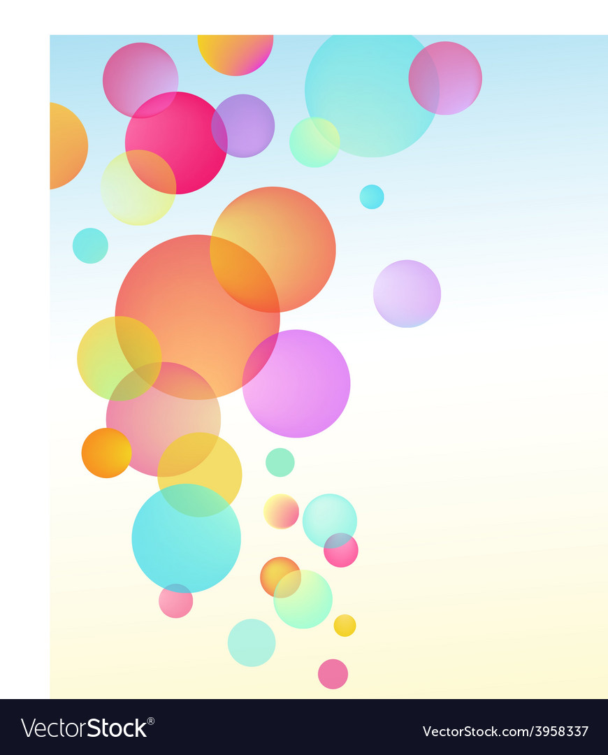 Abstract bubble baloon vector | Price: 1 Credit (USD $1)