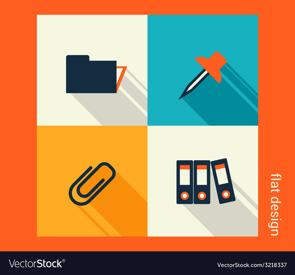 Business icon set software and web development vector | Price: 1 Credit (USD $1)