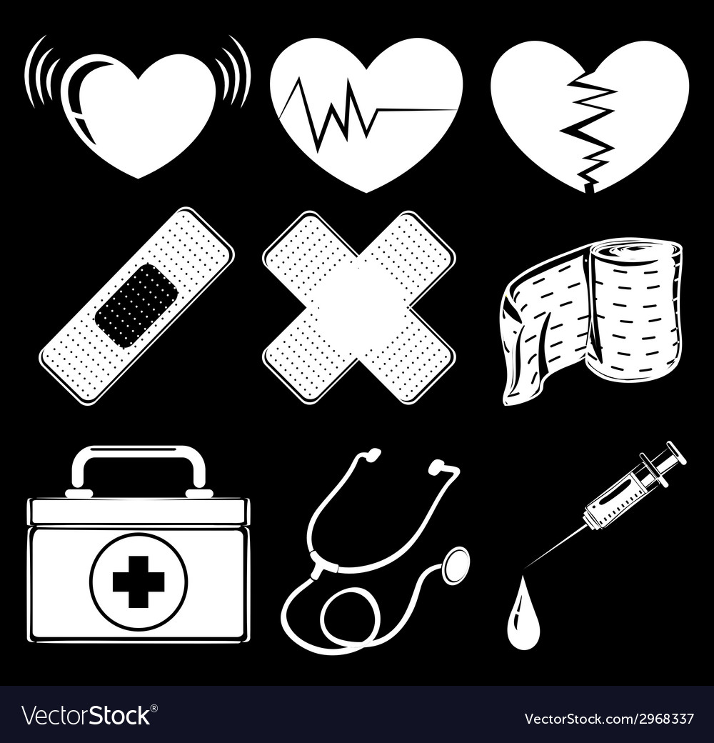 Different medical instruments vector | Price: 1 Credit (USD $1)