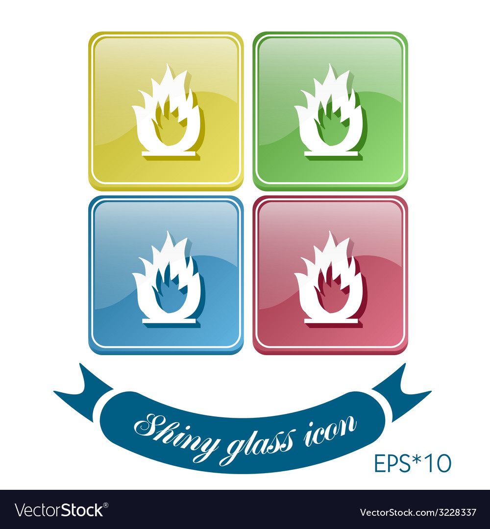 Fire sign vector   Price: 1 Credit (USD $1)