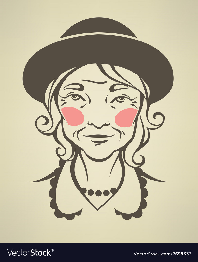 Lovely granny vector   Price: 1 Credit (USD $1)