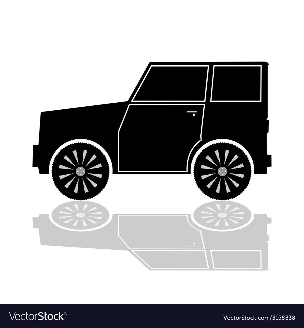 Car in black color vector   Price: 1 Credit (USD $1)
