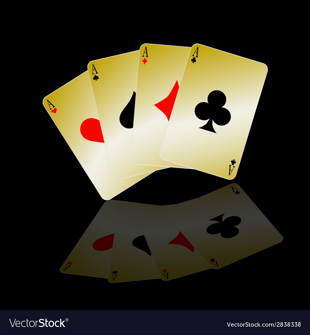 Card ace vector | Price: 1 Credit (USD $1)