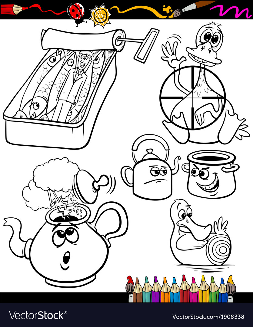 Sayings set for coloring book vector   Price: 1 Credit (USD $1)