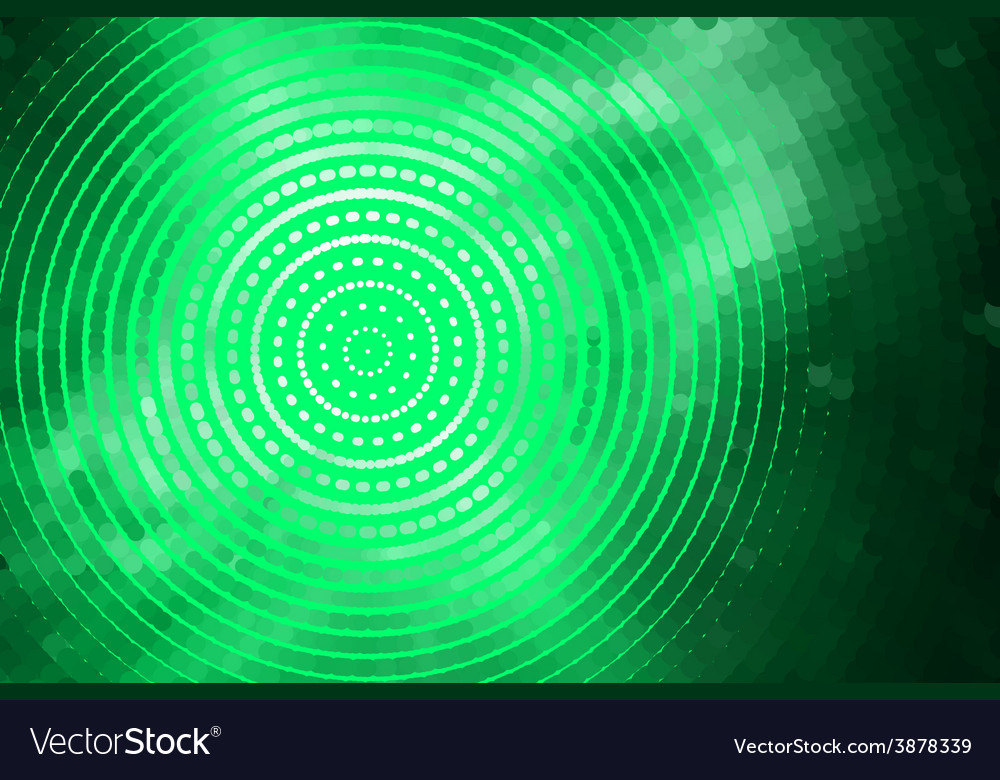 Abstract green spiral vector | Price: 1 Credit (USD $1)