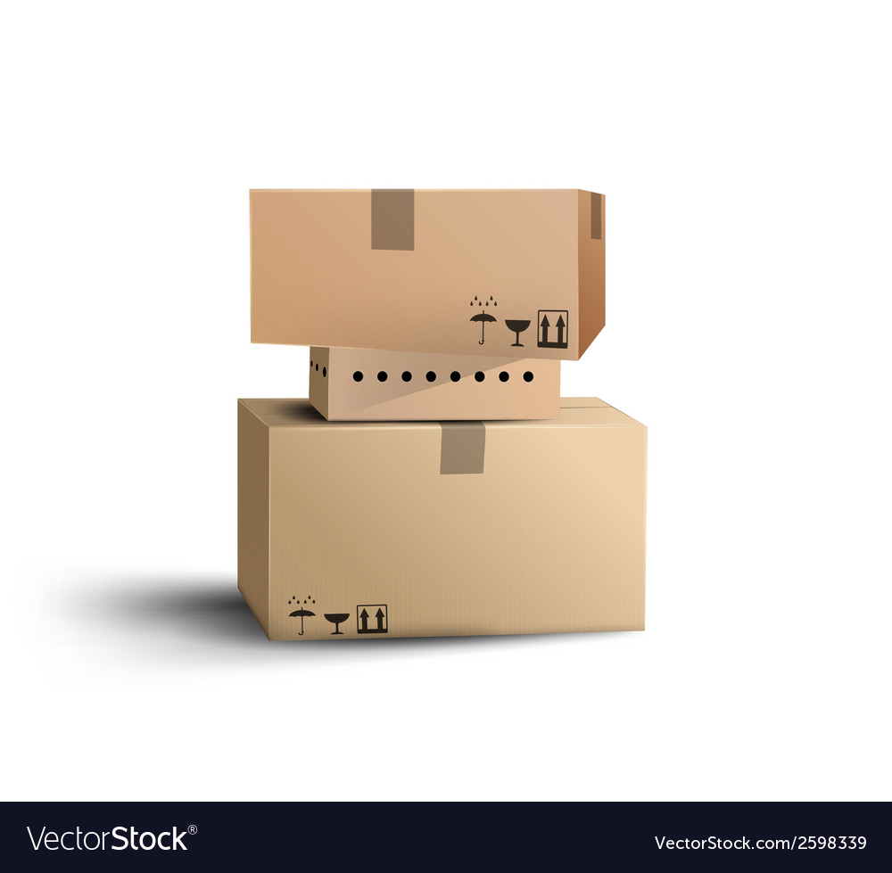 The boxes vector | Price: 1 Credit (USD $1)