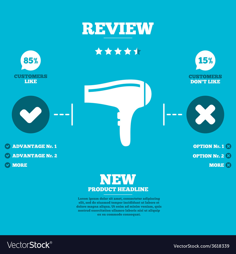 Hairdryer sign icon hair drying symbol vector   Price: 1 Credit (USD $1)