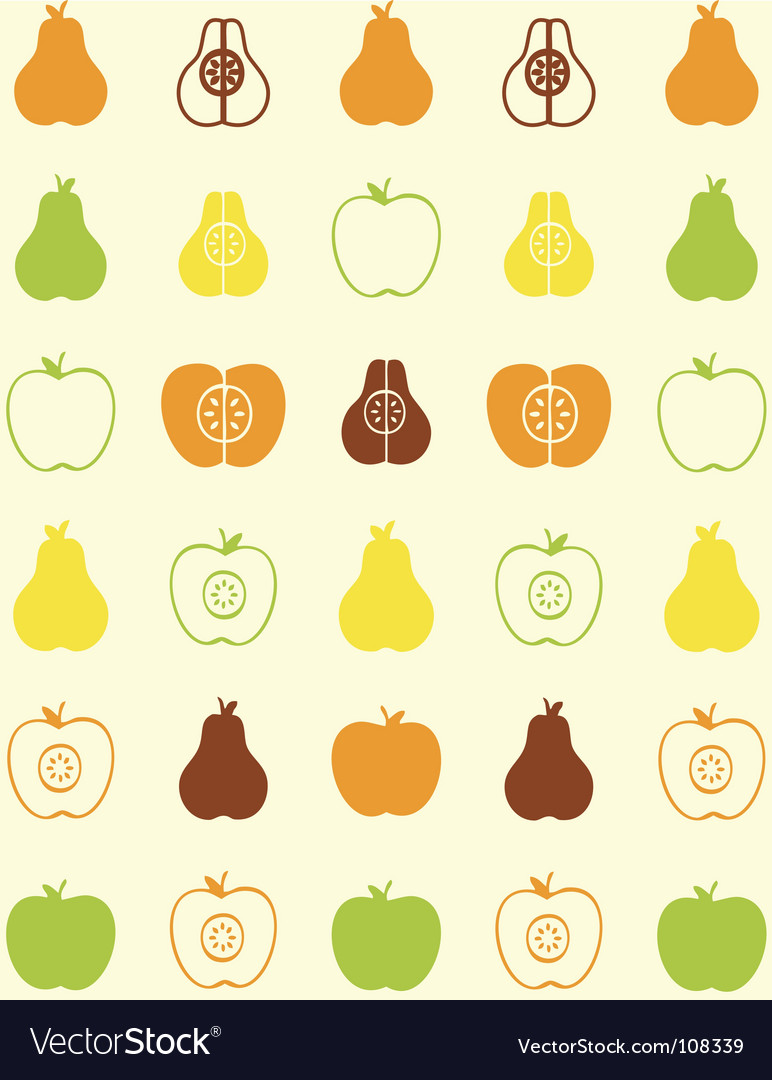 Pear wallpaper vector | Price: 1 Credit (USD $1)