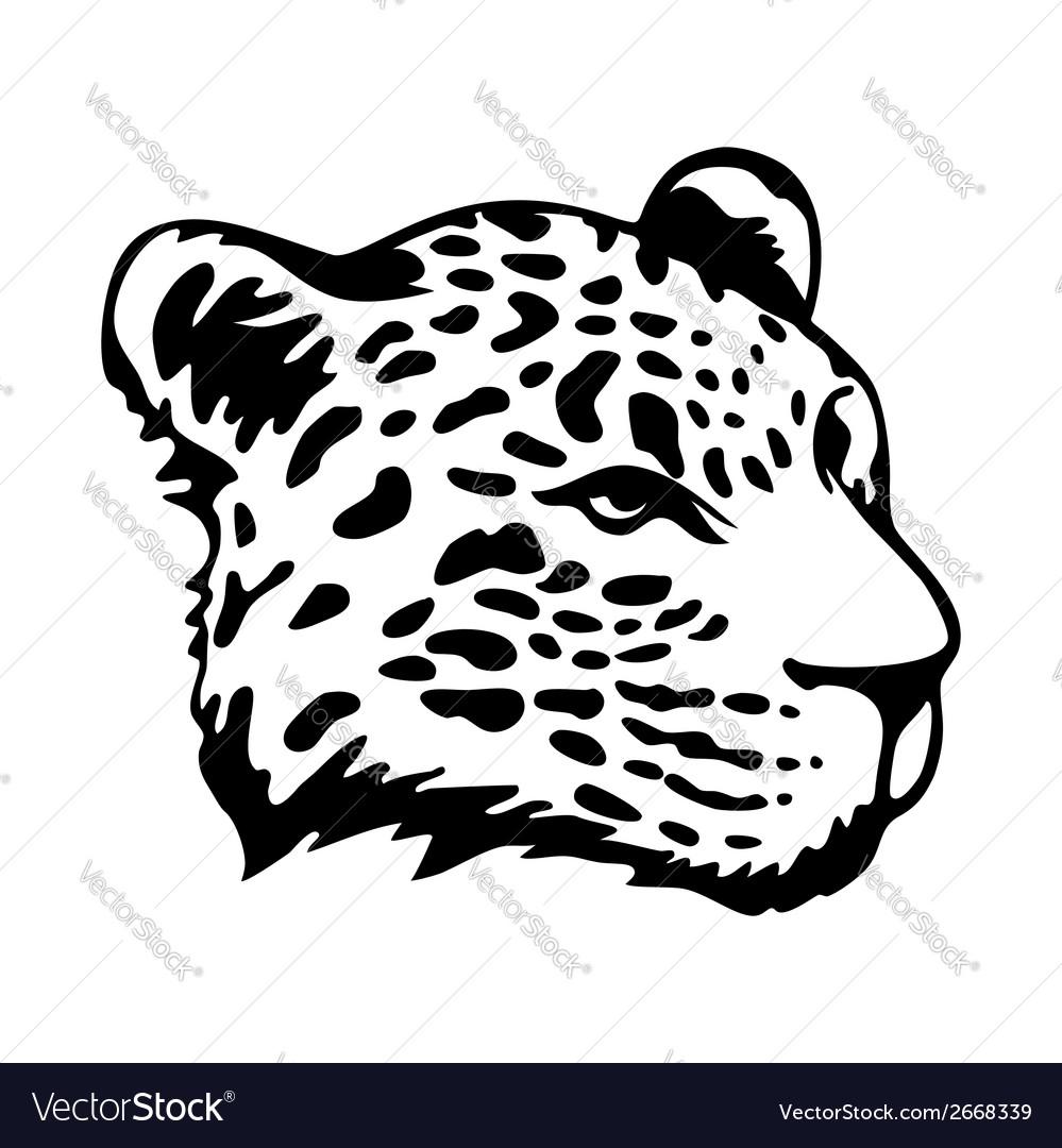 Tribal jaguar vector | Price: 1 Credit (USD $1)