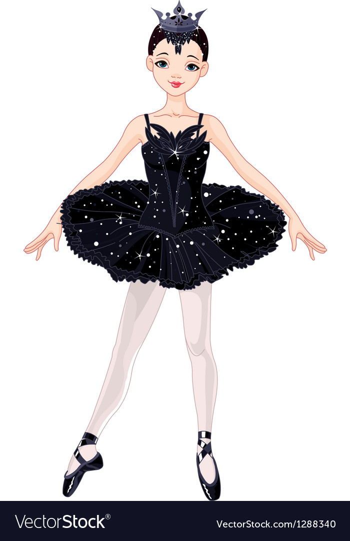 Ballerina girl vector | Price: 3 Credit (USD $3)