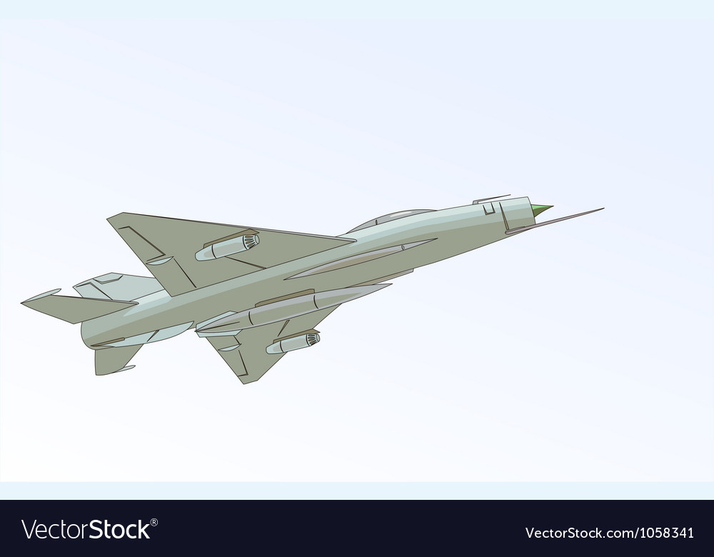 The mikoyan-gurevich mig-21 vector | Price: 1 Credit (USD $1)