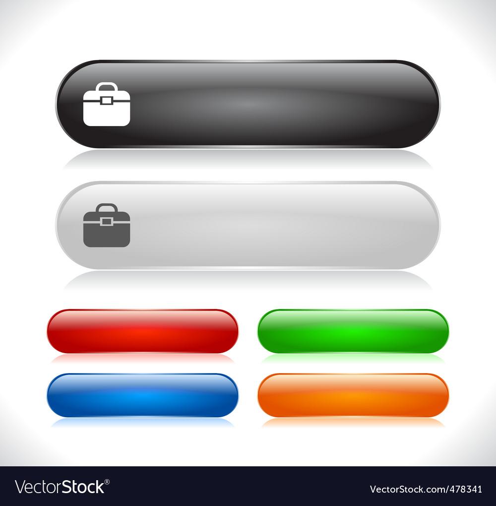 Website menu buttons vector   Price: 1 Credit (USD $1)