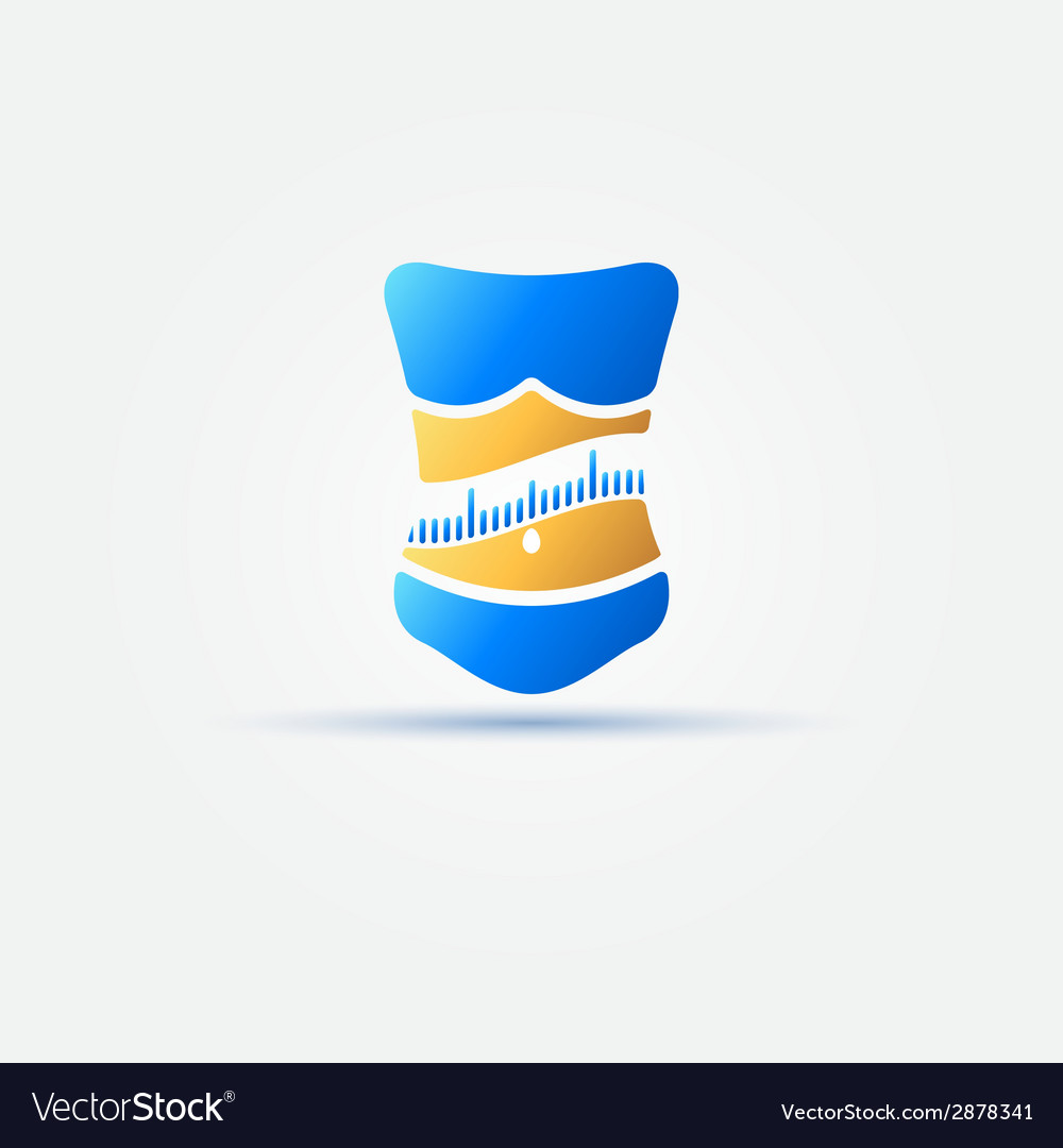 Weight loss bright icon vector   Price: 1 Credit (USD $1)