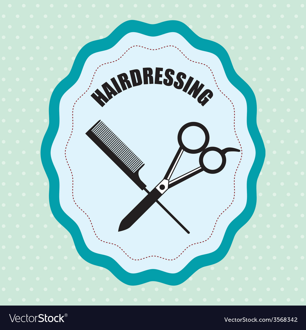 Barber shop design vector | Price: 1 Credit (USD $1)