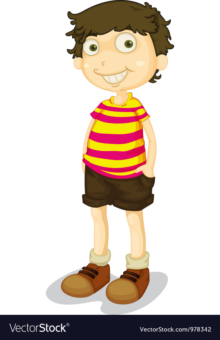 Cartoon boy vector | Price: 3 Credit (USD $3)