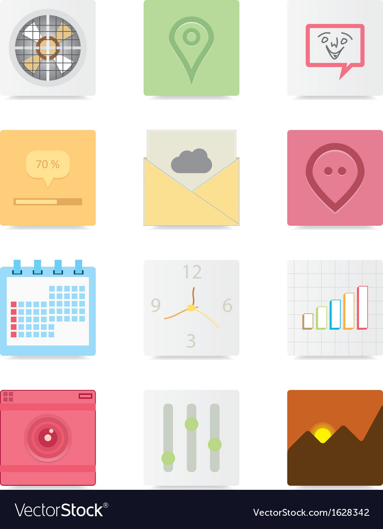 Web icons 13 vector | Price: 3 Credit (USD $3)