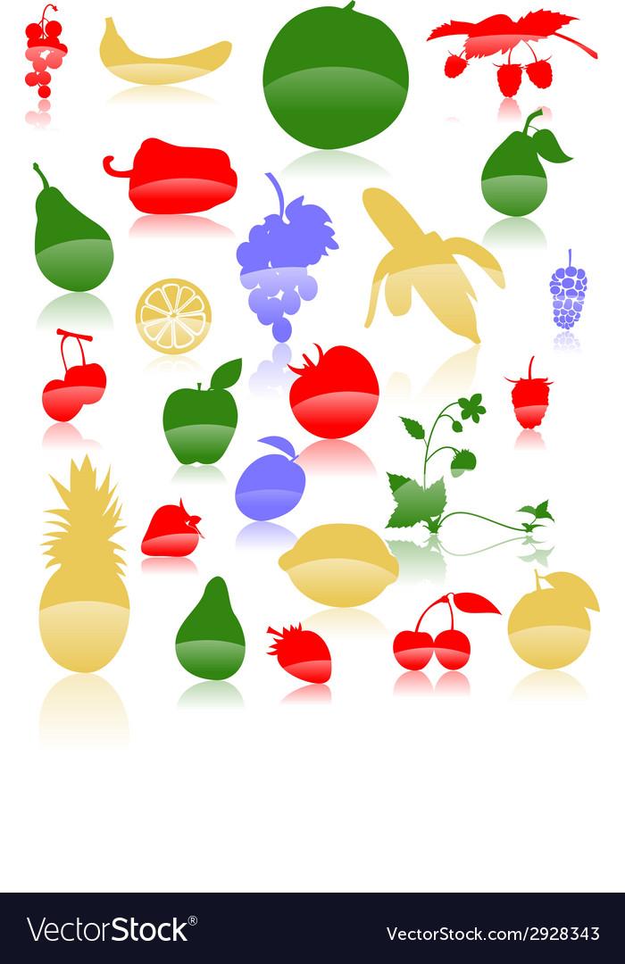Fruit vector | Price: 1 Credit (USD $1)