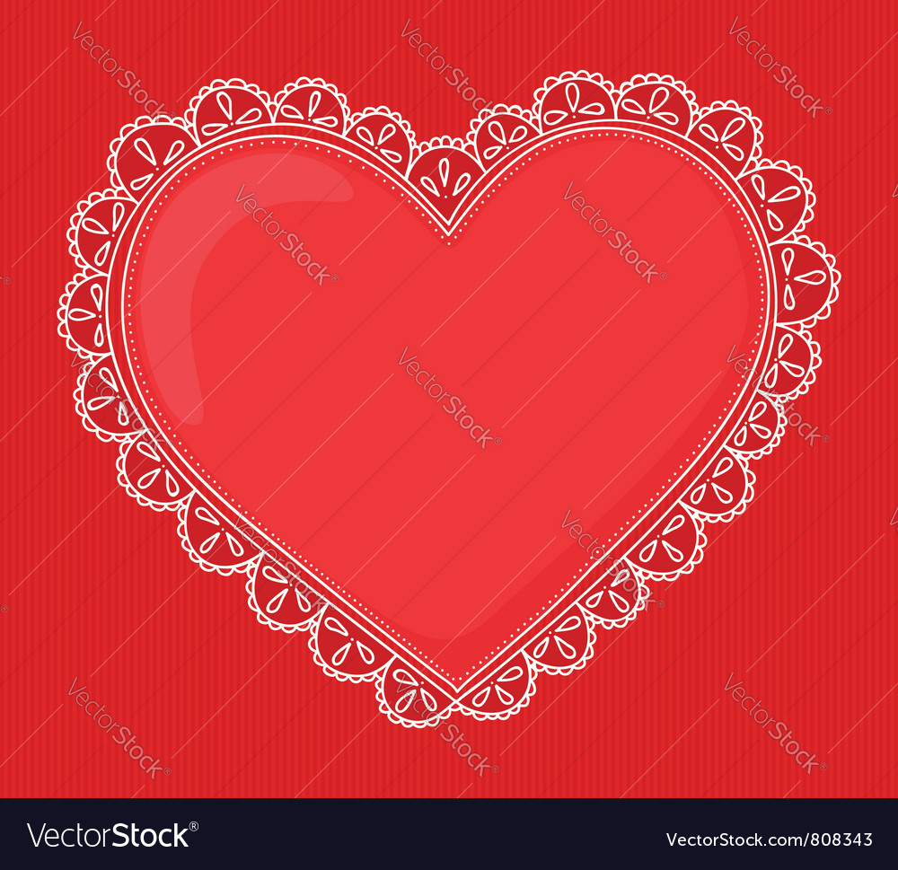 Handdrawn heart vector | Price: 1 Credit (USD $1)