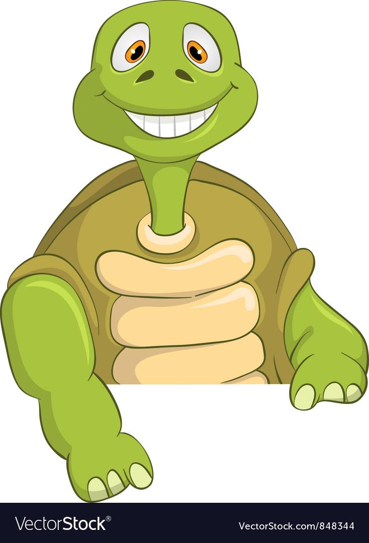 Funny turtle vector | Price: 3 Credit (USD $3)