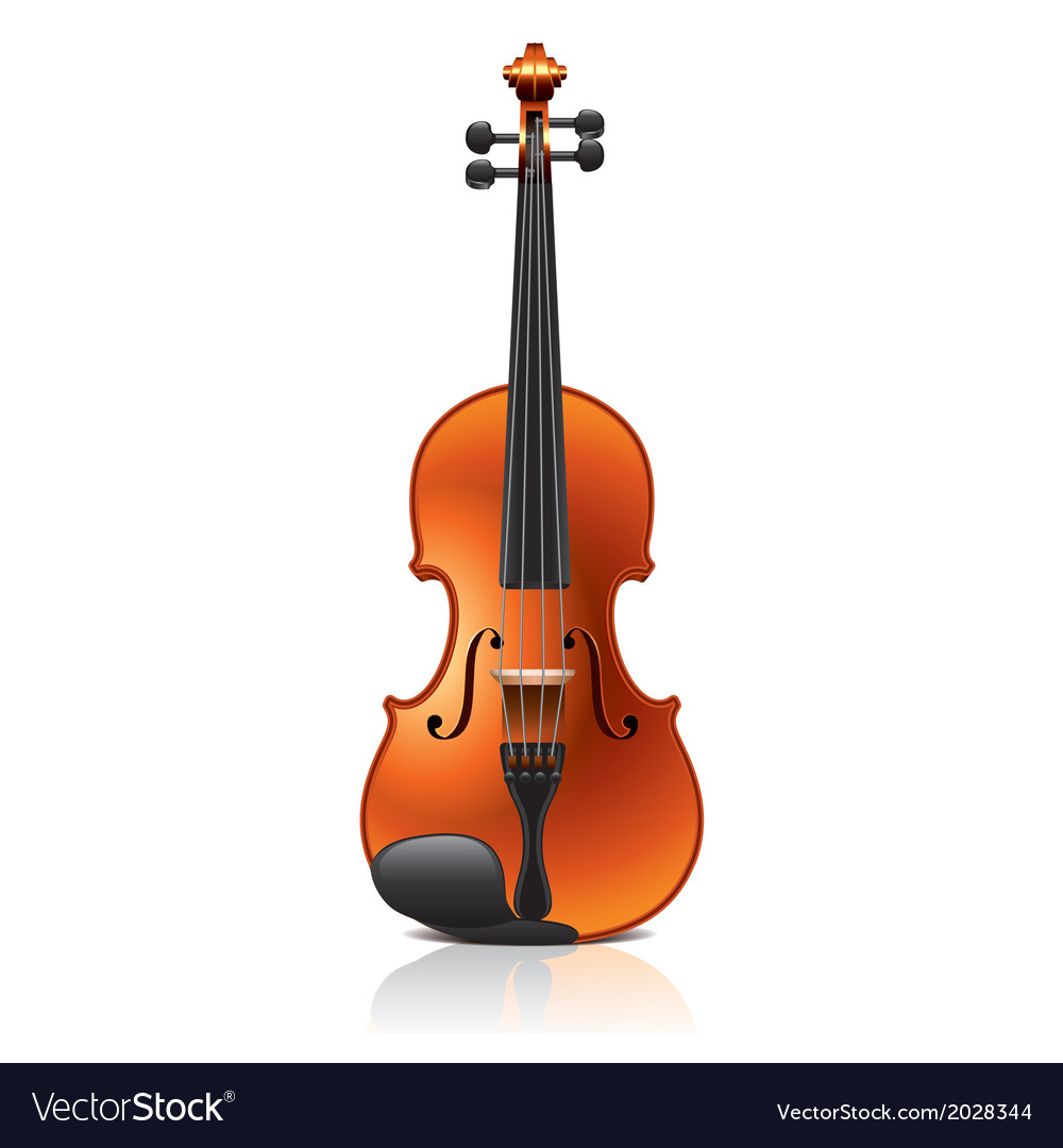 Object violin vector | Price: 1 Credit (USD $1)