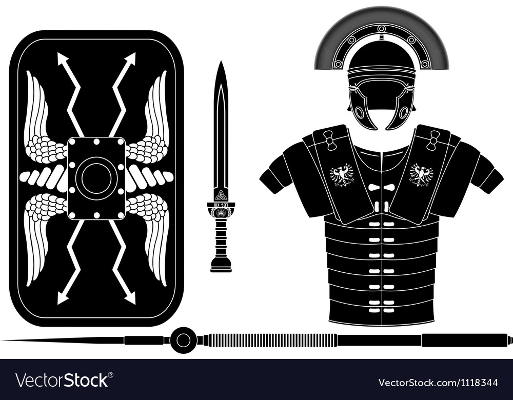 Roman armor vector | Price: 1 Credit (USD $1)