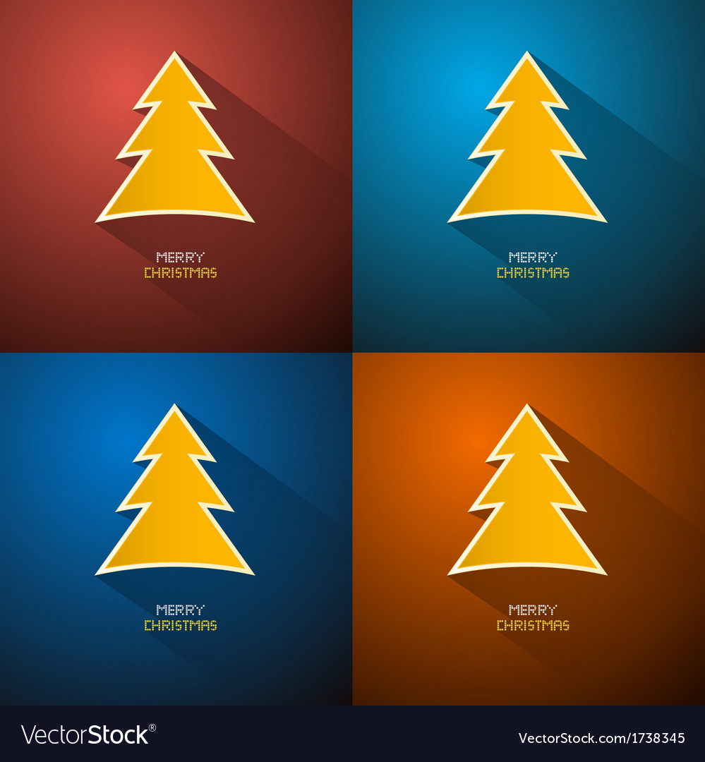 Abstract merry christmas background vector | Price: 1 Credit (USD $1)