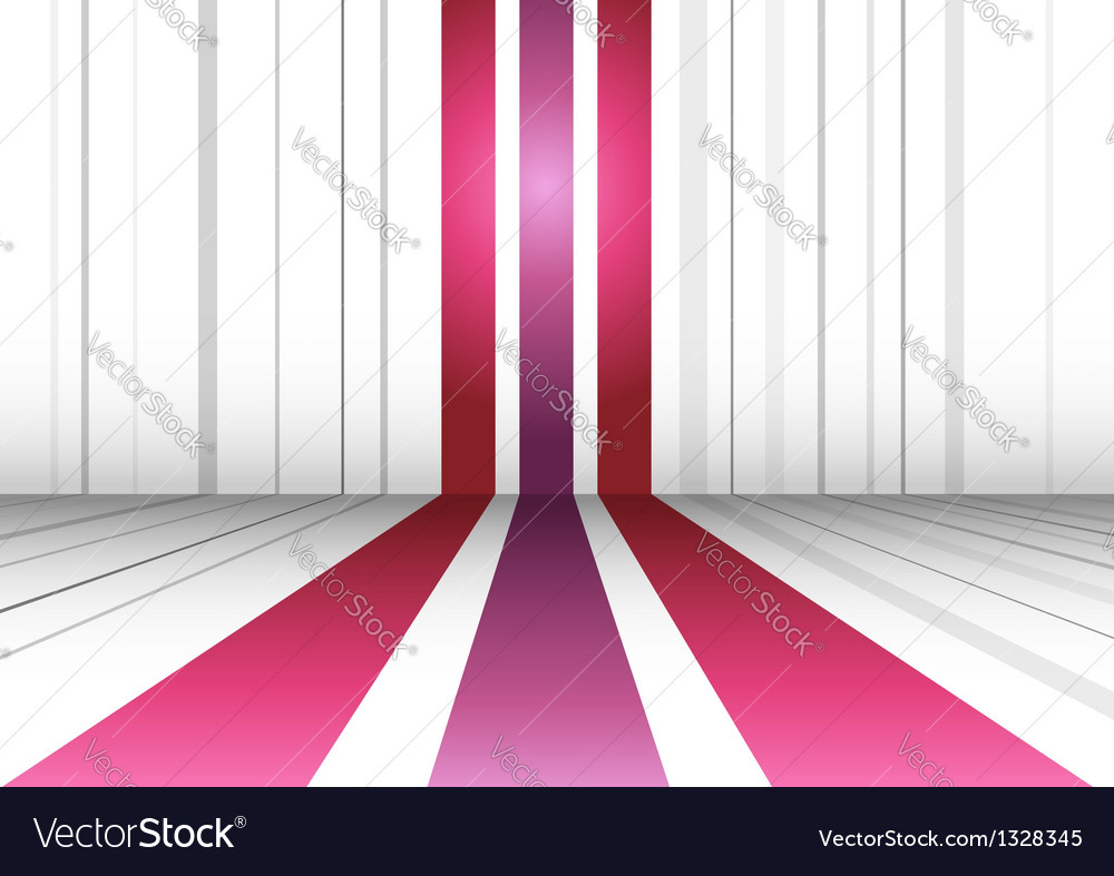 Abstract perspective background with three lines vector | Price: 1 Credit (USD $1)