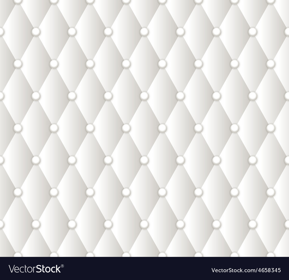 Abstract white upholstery background vector | Price: 1 Credit (USD $1)