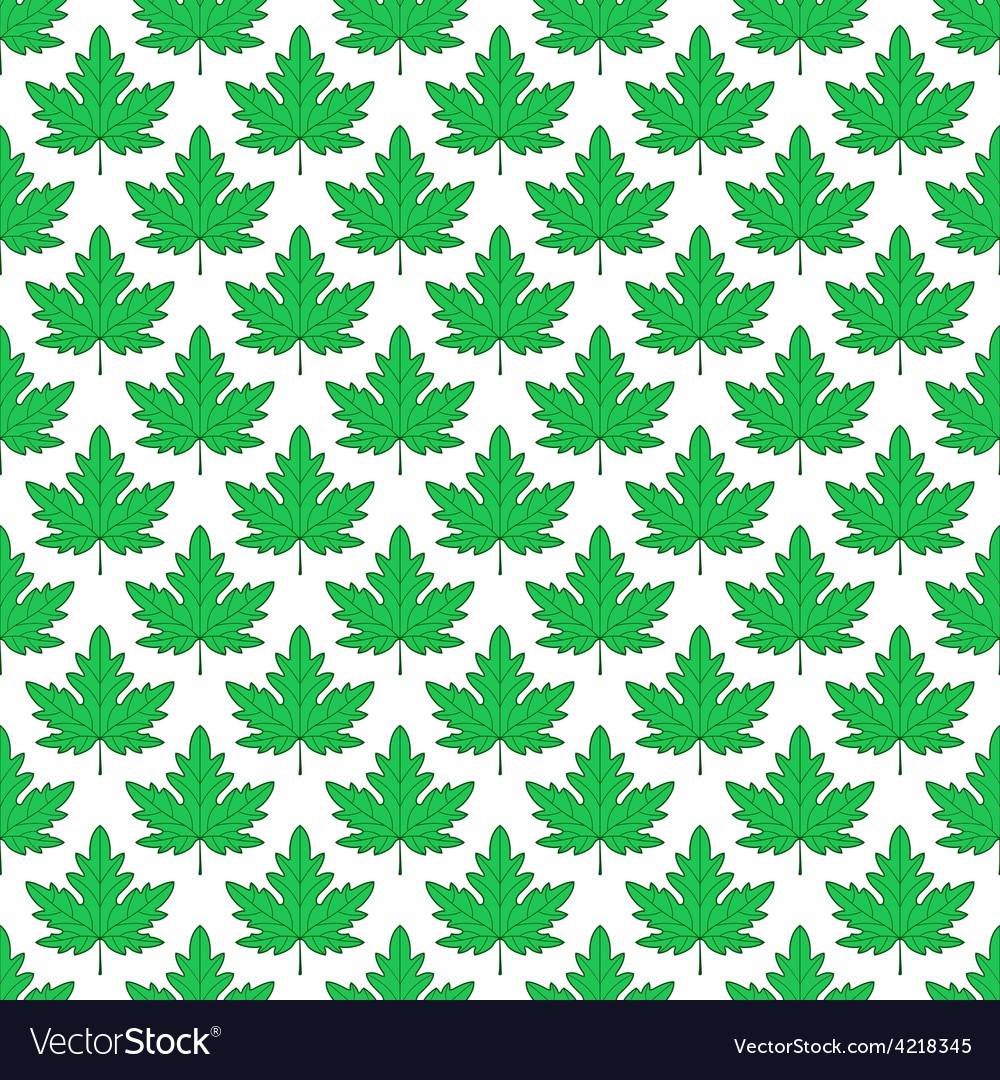 Maple leaf pattern vector | Price: 1 Credit (USD $1)