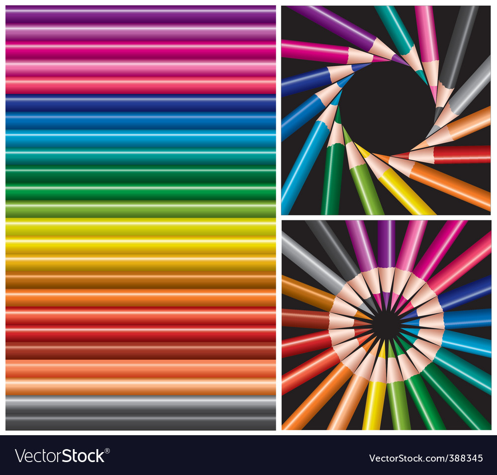 Pencils collage vector   Price: 1 Credit (USD $1)